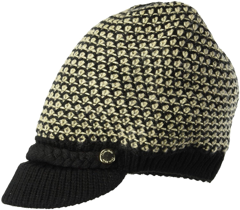 Calvin Klein Women s Textured Lurex Cabbie HAT a183b68606