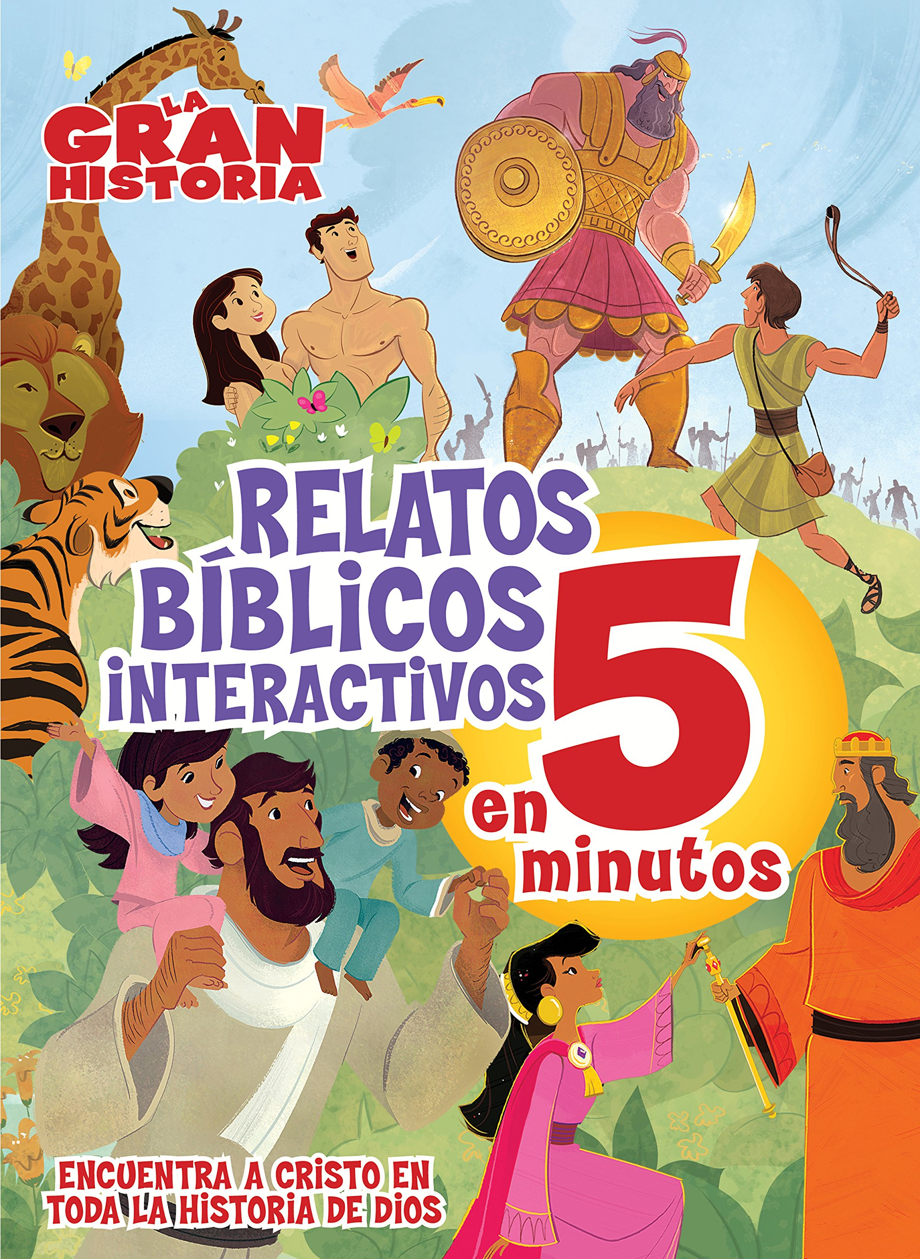 La Gran Historia, Relatos Bíblicos en 5 minutos, tapa dura (The Gospel Project) (Spanish Edition) pdf epub