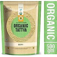 Organic Tattva, Organic Besan, 500g