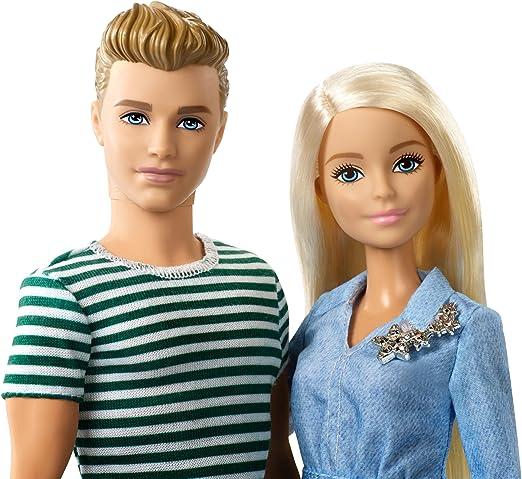 Amazon.es: Barbie Barbie y Ken Muñecos con Perrito de Juguete ...