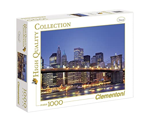 136 opinioni per Clementoni Puzzle 39199- New York- Brooklyn Bridge - 1000 pezzi High Quality