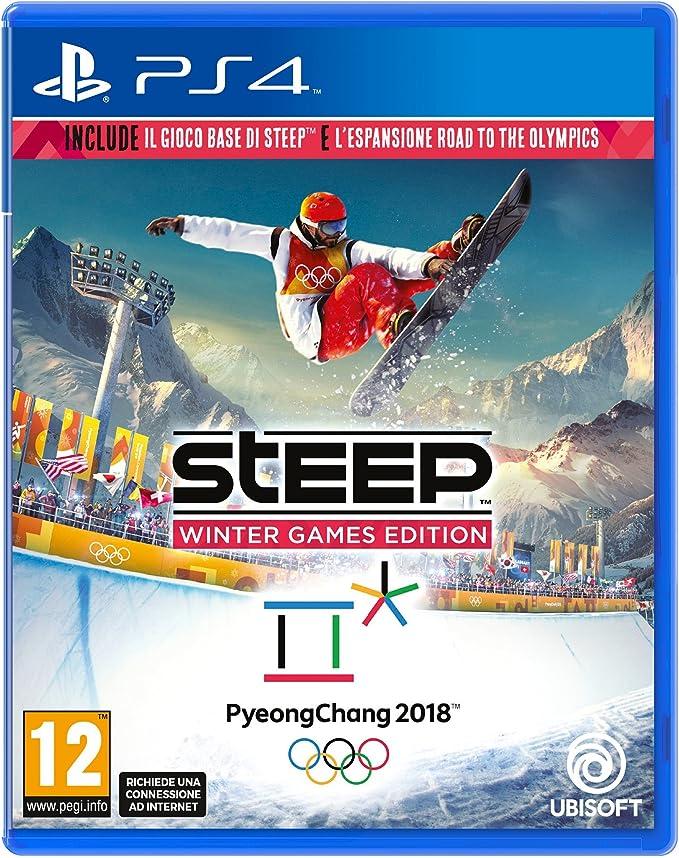 Ubisoft - Steep Winter Games Edition Ita PS4 [Importación italiana]: Amazon.es: Videojuegos