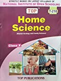 TOP NIOS Home Science Guide Class 10 (T-216)
