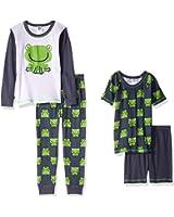 Gerber Baby Boys' 4 Piece Pajama Set