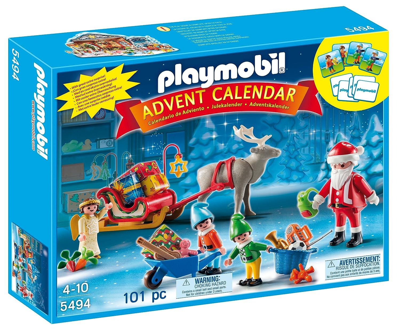 Christmas advent calendar play toy set santa angel elves