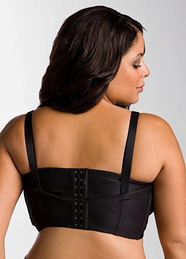 f046da235 Ashley Stewart Women s Plus Size Convertible Strapless Butterfly Bra 38DD  Black at Amazon Women s Clothing store  Bras