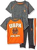 U.S. Polo Assn. - Juego de 3 camisetas y pantalones para bebé