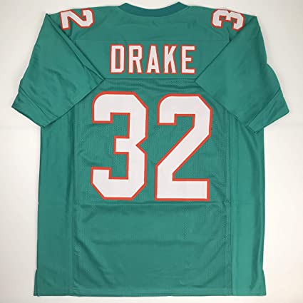0525ea96a3e Unsigned Kenyan Drake Miami Green Custom Stitched Football Jersey Size XL  New No Brands/Logos