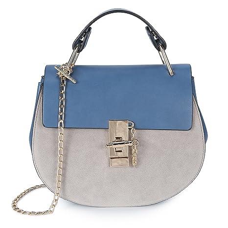 aa102616433fd Damen Umhängetasche Kleine Schultertasche Kette Tasche Clutch Mini Handtasche  Vintage Citytasche für Hochzeit Party Disko -