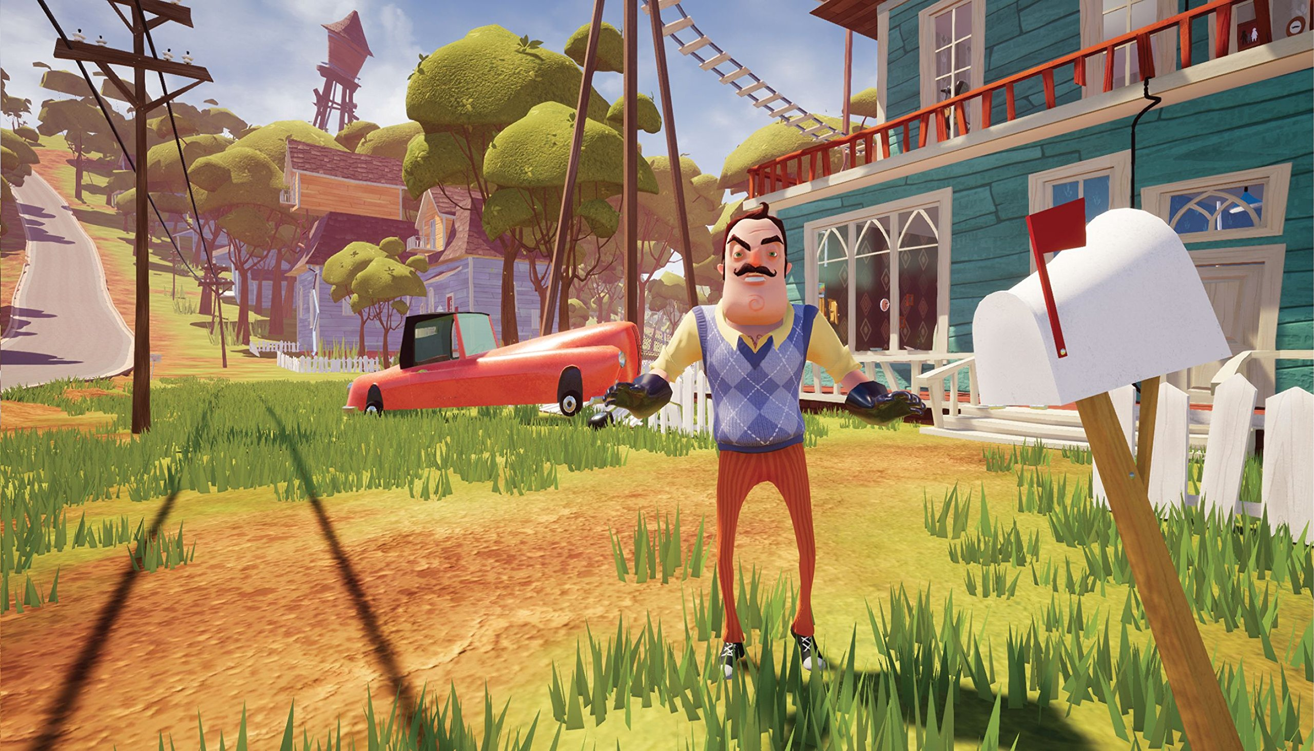 Video Games & Consoles Hello Neighbor Xbox One Case Only With Artwork No Game With The Most Up-To-Date Equipment And Techniques