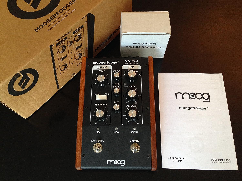 MOOG MOOGERFOOGER MF-104M ANALOG DELAY: Amazon.de: Musikinstrumente