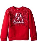 Star Wars Boys' Trooper and Vader Graphic Sweatshirt
