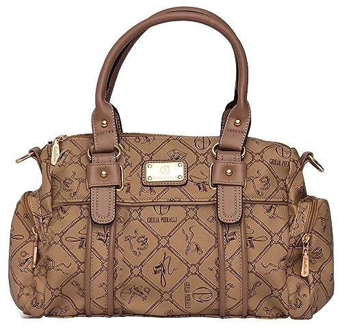 b2e79cd07e994 Damentasche Umhängetasche Handtasche Kunst Leder von Giulia Pieralli  sehr  beliebt  - Modell  26119E