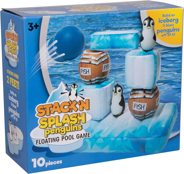 Amazon.com: SCS Direct - Juego de piscina hinchable – Piedra ...