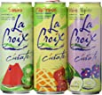 La Croix C'urate Variety Pack! Blackberry Cucumber, Kiwi Watermelon, Pineapple Strawberry Curate, 12 OZ Cans (3 Flavor Variety Pack, Total of 16 Cans)