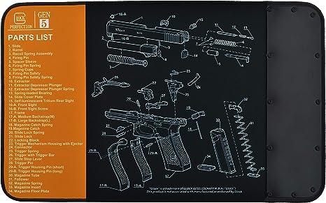 BOOSTEADY Universal Gunsmith Bench Block for Pistols Work