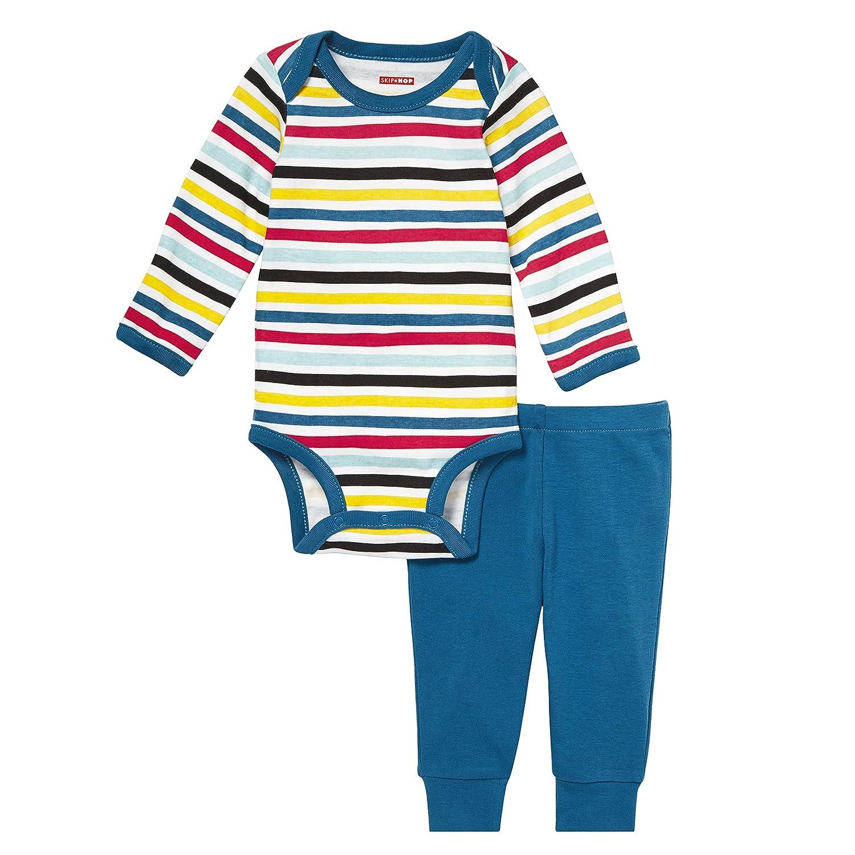 2495bc688f3c Amazon.com  Skip Hop Girls  Baby Says Long Sleeve Bodysuit   Pant ...