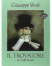 Giuseppe Verdi: Il Trovatore In Full Score (Dover Music Scores)
