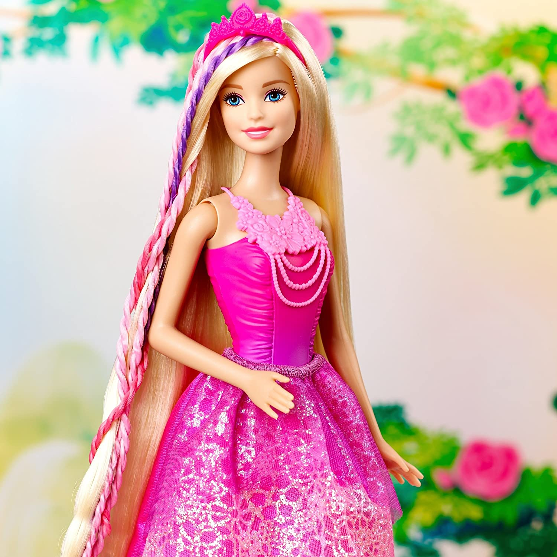 Barbie con i capelli lunghissimi