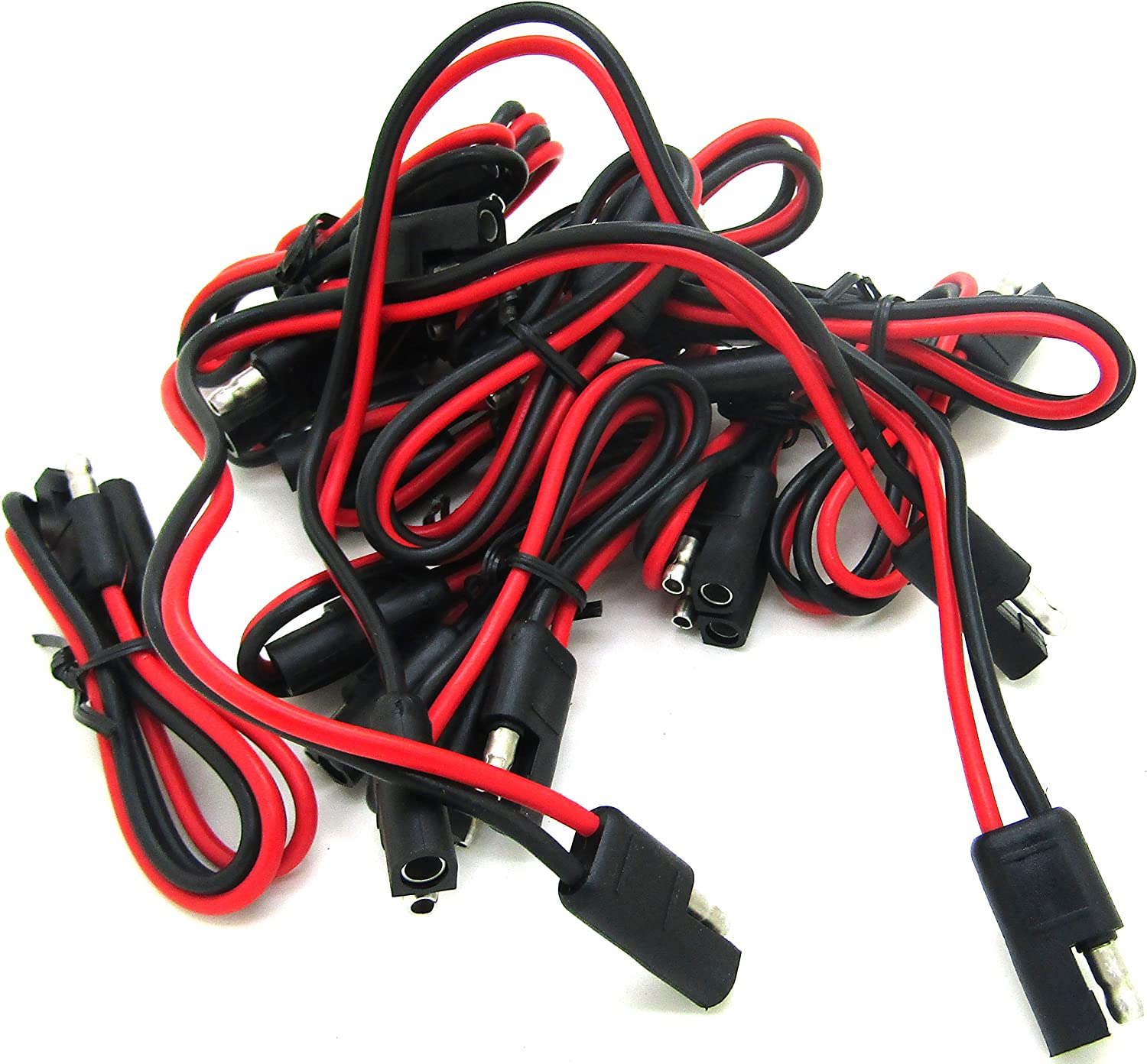 quick disconnect wiring harness amazon com  qty 20  12 gauge 2 pin quick disconnect wire harness  12 gauge 2 pin quick disconnect wire