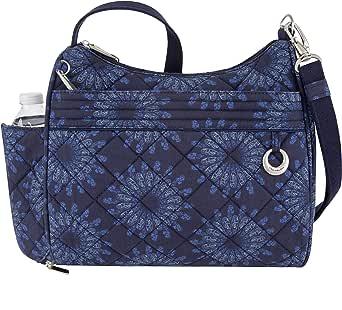 Travelon Women's Anti-Theft Boho Square Crossbody Cross Body Bag
