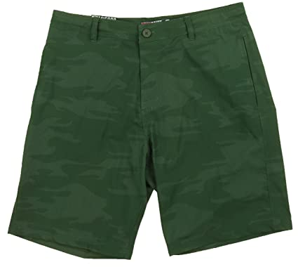 cdc6de463dbd5 Micros Mens Hybrid Lightweight Swim Trunks Casual Walking Surf Board Shorts  (30, Bunker Olive