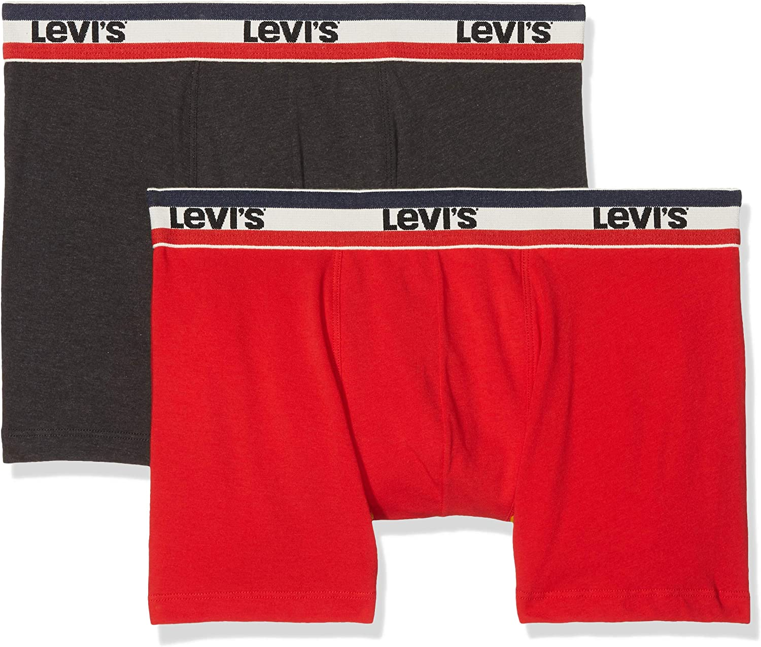 Levis Levis 200sf Sprtswr Logo Color Boxer Brief 2p (Pack de 2) para Hombre: Amazon.es: Ropa y accesorios
