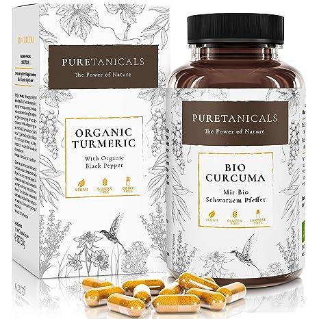 Cápsulas Cúrcuma Piperina Bío Forte 4000 mg   Dosis Altas, Analizada en Laboratorios - Pastillas