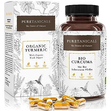 Cápsulas Cúrcuma Piperina Bío Forte 4000 mg | Dosis Altas, Analizada en Laboratorios - Pastillas