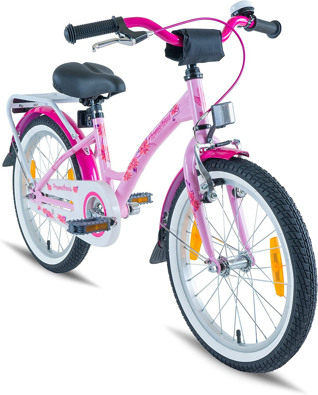 Prometheus Bicicleta Infantil Para Niña 18 Pulgadas | Rosa Lila ...
