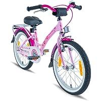 PROMETHEUS® Premium Vélo pour enfants à partir d'env. 6   Edition Classic 18   Couleur Rose & Blanc