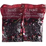 Bing Cherry Dragées in Premium Chocolate - 24oz Pouch - by Dilettante (2 Pack)