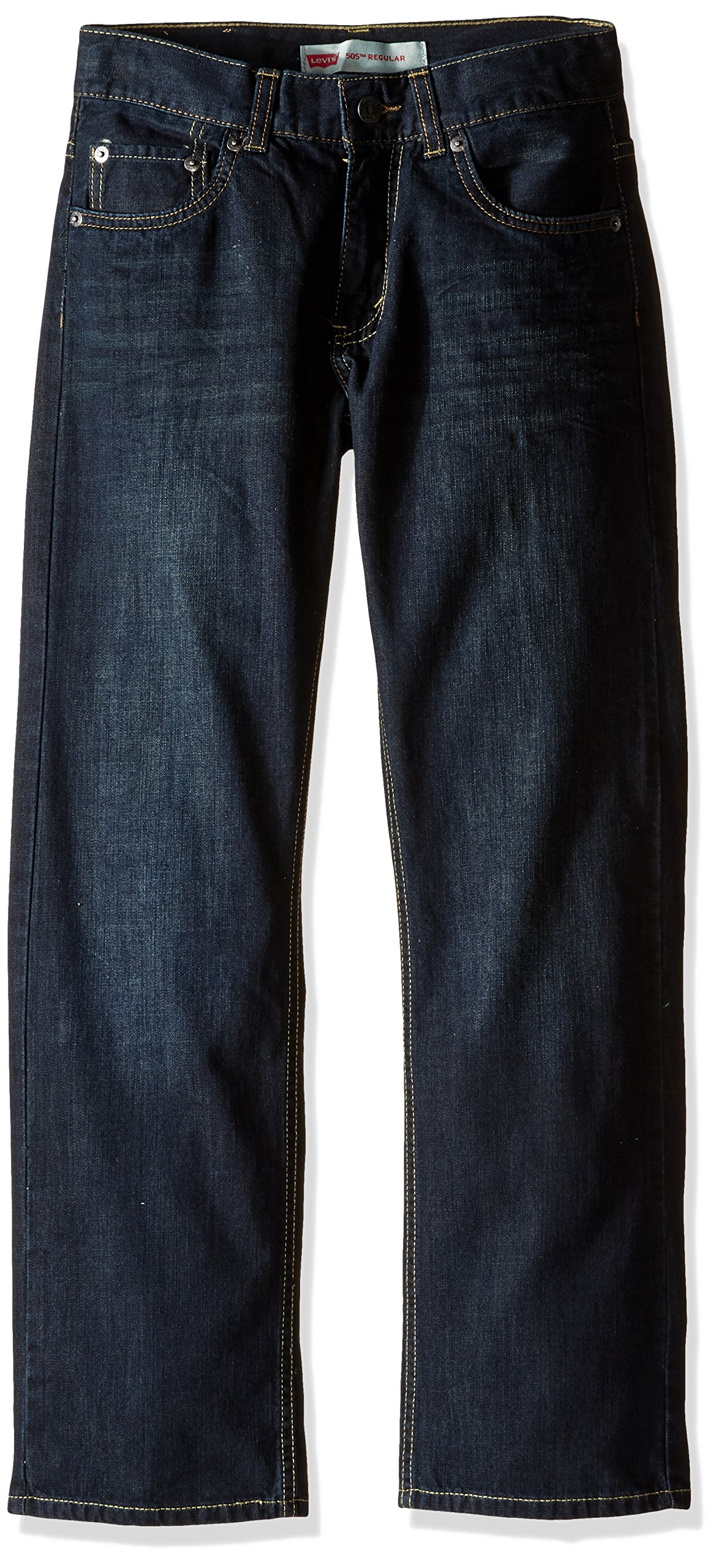 Levi's Boys' 505 Regular Fit Jeans, Dirt Road, 14