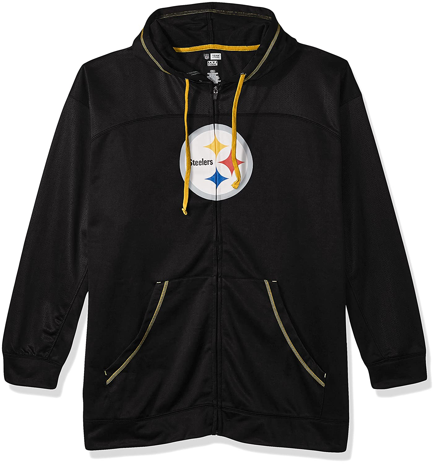 Amazon.com   NFL Pittsburgh Steelers Men FULL ZIP HOODIE fccc42dbd