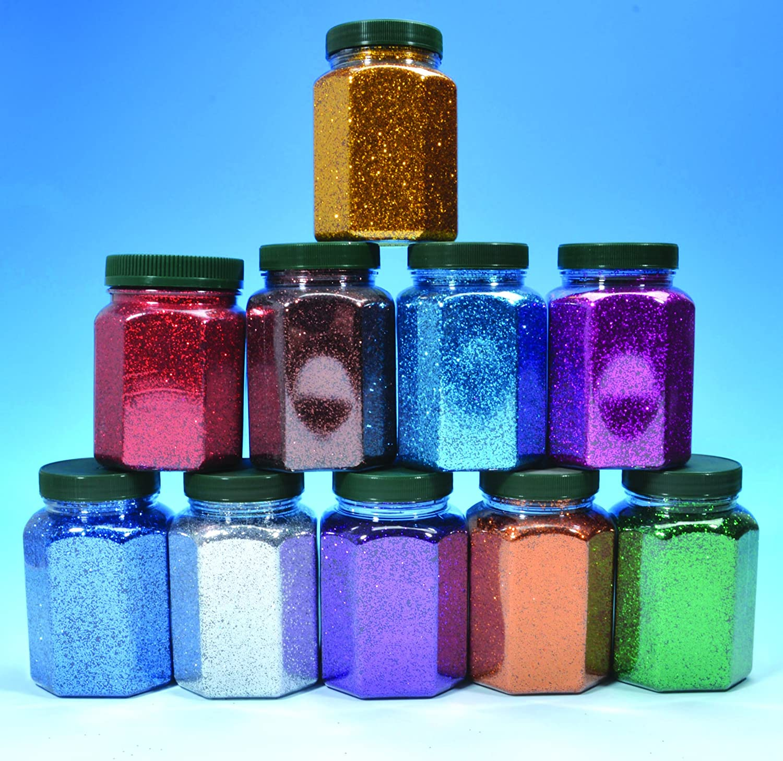 Glitter Glitterstaub 10er Set von Avantgarde pro Dose 350g