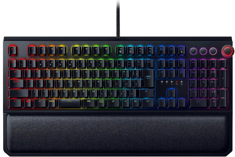 Razer BlackWidow Elite JP Orange Switch メカニカル ゲーミングキーボード