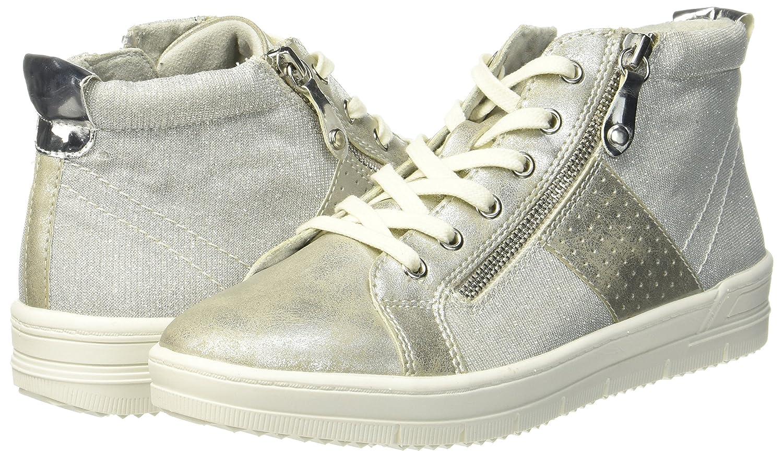 Tamaris Damen Damen Tamaris 25213 Hohe Sneaker, Silber b9be08