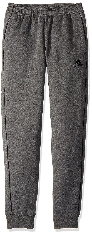 Adidasユニセックスユースサッカーcore18 Sweat Pant B072L7RRRQ Medium|ダークグレーヘザー/ブラック ダークグレーヘザー/ブラック Medium