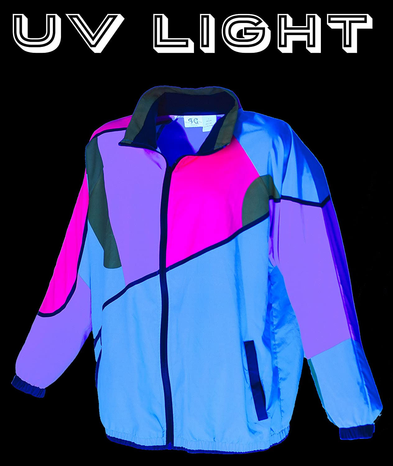Funny Guy Mugs 80s /& 90s Retro Neon Windbreakers