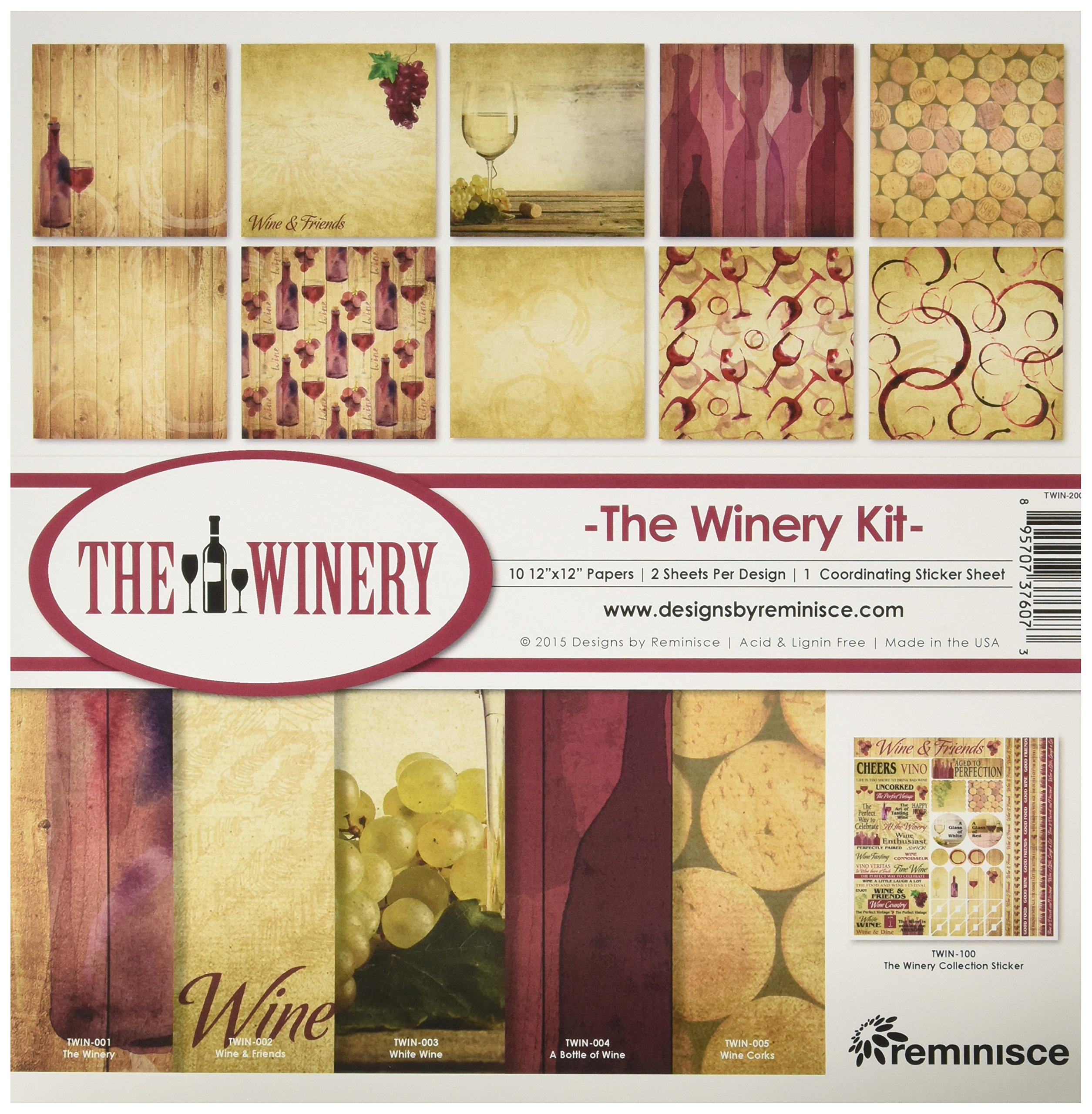 Reminisce The Winery Collection Kit