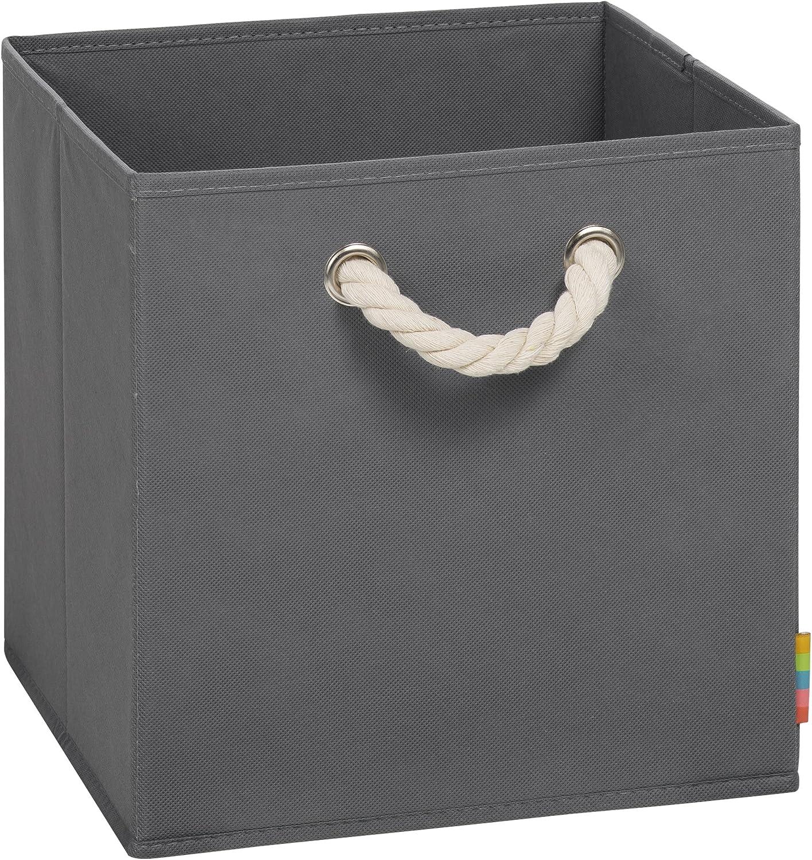 Storanda Leo - Caja de almacenaje Plegable (30 x 30 x 30 cm): Amazon.es: Hogar