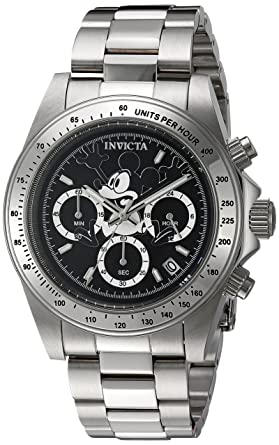 b2ce6193654 Invicta Men s Disney Limited Edition Japanese-Quartz Watch with Stainless- Steel Strap