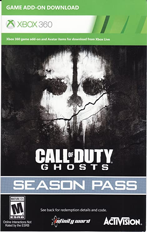Call of Duty Ghosts Season P DLC Code Card - Xbox 360 Call Of Duty Ghosts Maps Packs on call of duty 3 zombies maps, call of duty world war 3, call of duty texture pack, cod ghosts new personalization packs, call of duty ghost tour, call of duty advanced warfare supply drops, call of duty new release 2014, call of duty extinction map, call of duty black ops zombies ps3, call of duty zombies map packs, advanced warfare map packs, call of duty black ops verruckt, call of duty black ops escalation map pack, call of duty ghosts expansion packs, call of duty ghost camera, cod ghost map packs, call of duty ghost pre owned, call of duty black ops 2 bacon camo, call of duty 5 maps, call of duty black ops zombies toys,