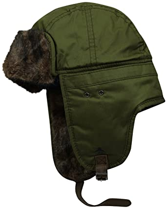 57983e76d6079 Amazon.com  Original Penguin Men s Waxed Cotton Trapper Hat  Clothing