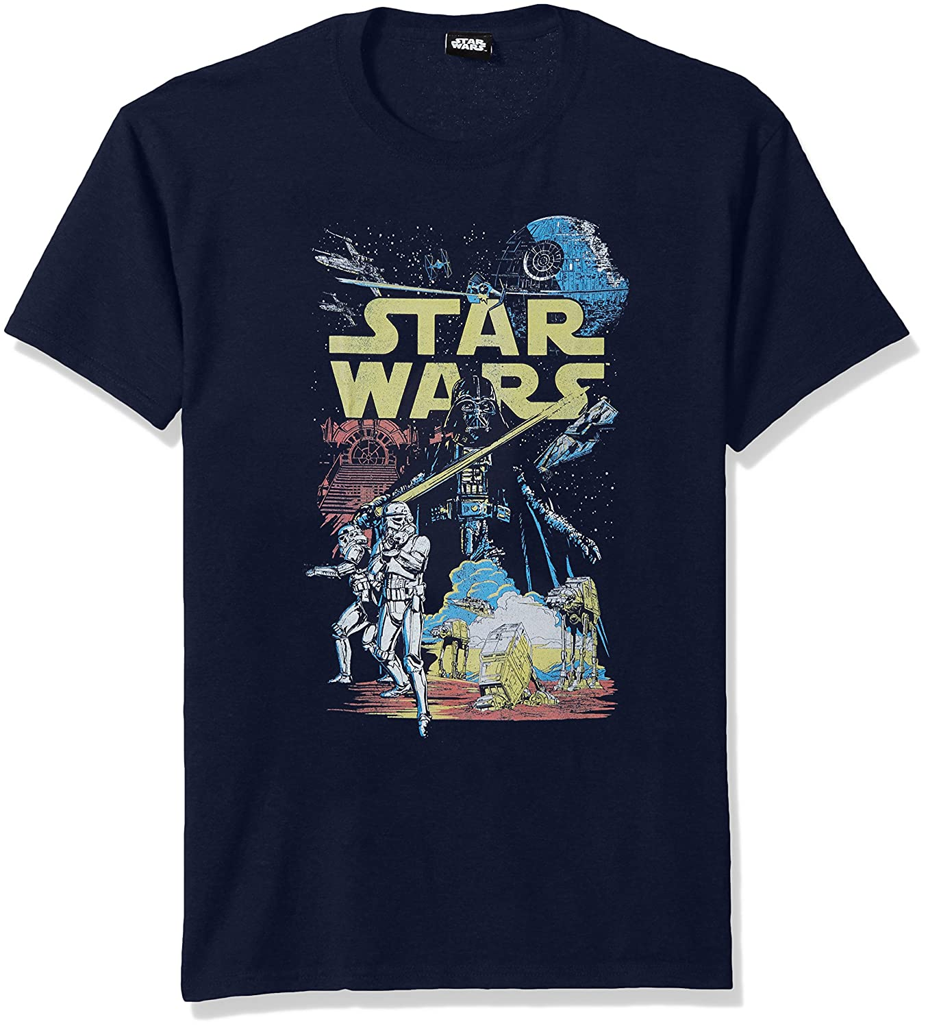 Star Wars Men's Rebel Classic Graphic T-Shirt Fifth Sun STRW2154-10001001