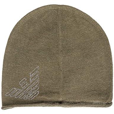 Emporio Armani EA7 women s beanie hat green UK size S 2855478A73104380 2f52e4dbde9