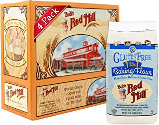 product image for Bob's Red Mill Gluten Free 1-to-1 Baking Flour, 22 Ounce (Pack of 4)