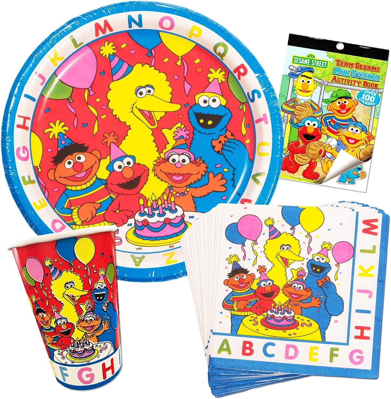 Large Stickers Rewards 15 Elmo Party Favors Sesame Street