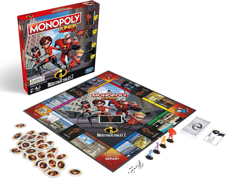 Monopoly – Juego Junior indestrucibles, e1781: Amazon.es: Juguetes y juegos
