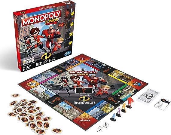 Monopoly E1781 - Juego de Mesa para niños: Amazon.es: Juguetes y juegos